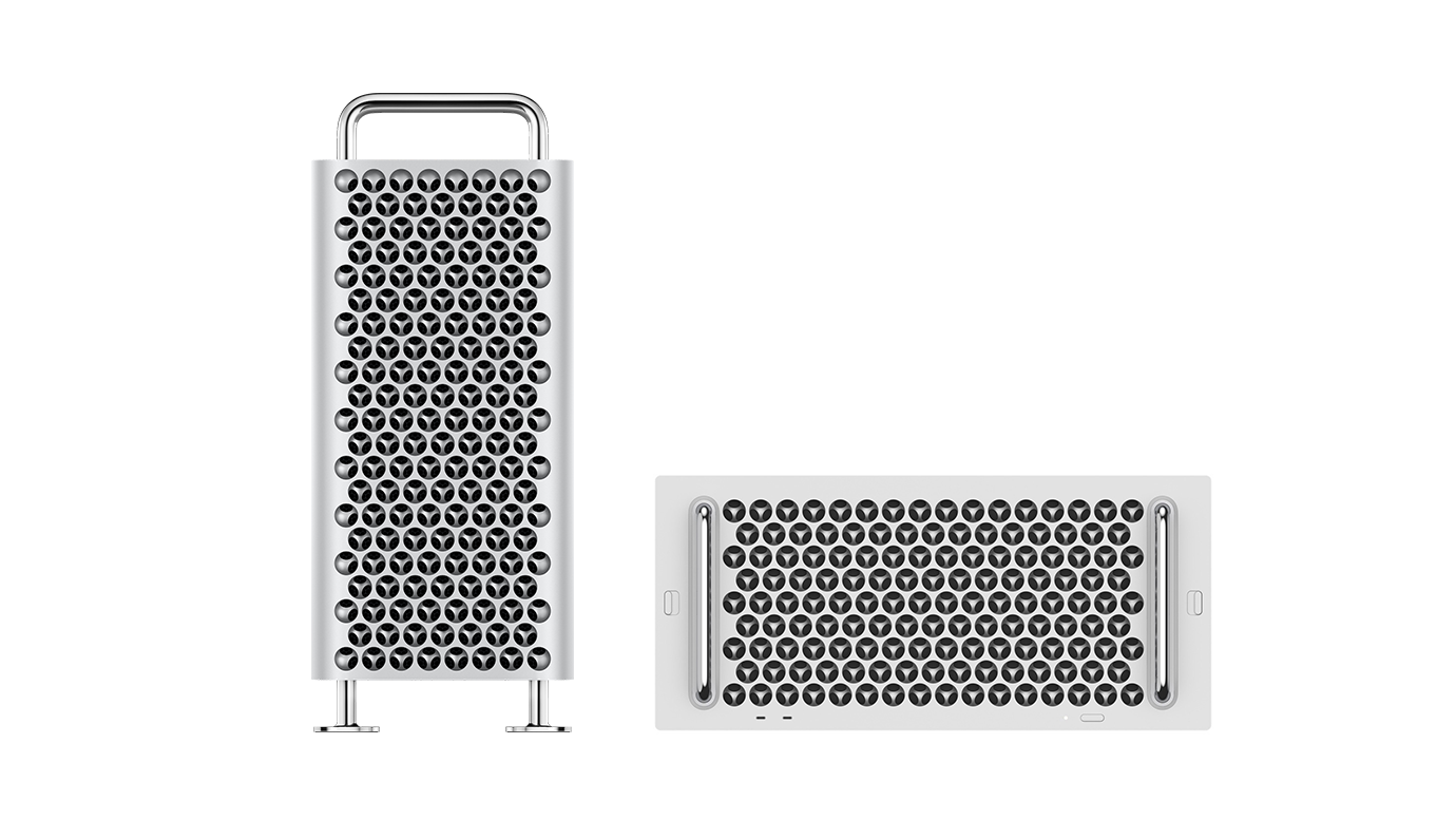 Picture of the Mac Pro with link to Apple.com