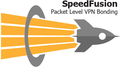 Logo SpeedFusion leading to the SpeedFusion page