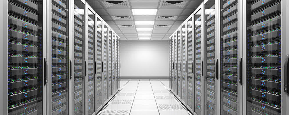 This is the picture of a clear structure Datacenter