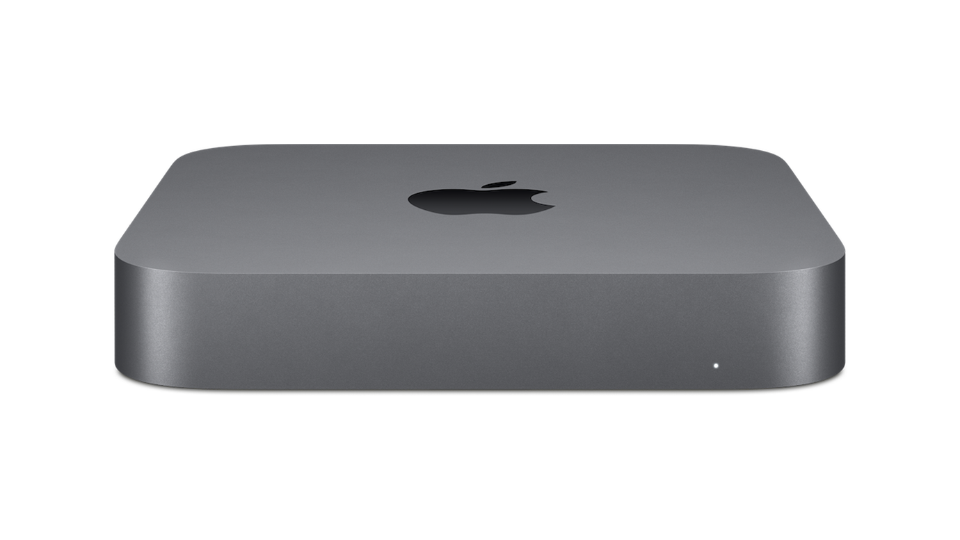 Picture of Mac Mini with a link to Apple.com | Visit the Apple page