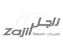 Logo from Zajil Telecom with link to page